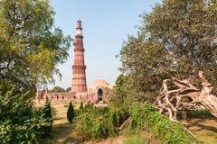 Qutub Minar Imágenes de archivo libres de regalías