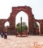 Qutub Minar Imagenes de archivo