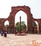 Qutub Minar Imagens de Stock