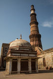Qutub Minar Lizenzfreie Stockfotos