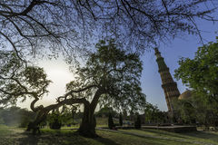 Qutub Minar Photographie stock