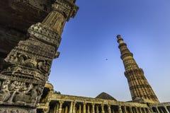 Qutub Minar Lizenzfreies Stockfoto