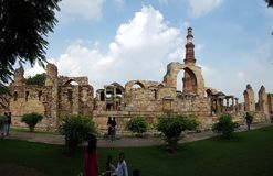 Qutub Minar Fotos de archivo libres de regalías