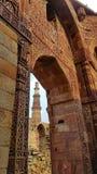 Qutub Minar Stock Foto