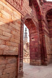 Qutub Minar Stock Photography