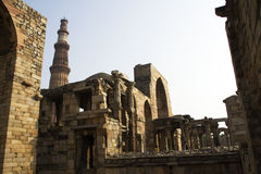 Qutub Minar Complex Stock Photo