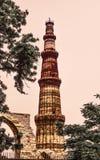 Qutub minar, Delhi immagine stock
