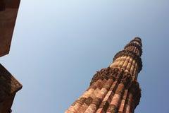 Qutub minar, Delhi Obraz Stock