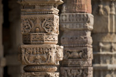Qutub Minar in Delhi Royalty Free Stock Photography