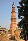 Qutub Minar, Delhi, India Fotografia Stock Libera da Diritti