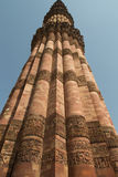 Qutub Minar, Delhi, India Fotografie Stock Libere da Diritti