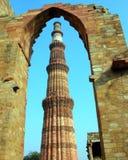 Qutub Minar Delhi stock photography