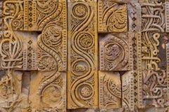Qutub Minar eller torn av segern Arkivfoto