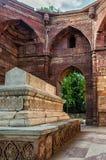 Qutub Minar grav arkivfoton