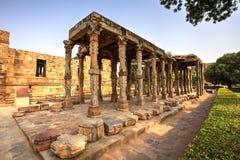 Qutub Minar kompleks, India obraz royalty free