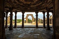 Qutub Minar kompleks, India zdjęcie stock