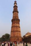 Qutub Minar le torri più alte e famose nel mondo, Delhi Fotografie Stock