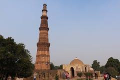 Qutub Minar les tours les plus grandes et célèbres dans le monde, Delhi Photos stock