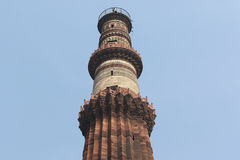 Qutub Minar les tours les plus grandes et célèbres dans le monde, Delhi Photo libre de droits