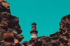 Qutub minar monument delhi india. Qutub minar monument delhi stock photography