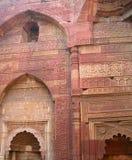 The Qutub Minar monument site details Royalty Free Stock Photos