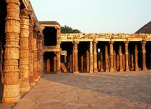 Qutub Minar Mosque, Delhi. Royalty Free Stock Image