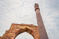 Qutub Minar New Delhi Royalty-vrije Stock Foto's