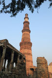 Qutub Minar, New Delhi, India Royalty Free Stock Photo