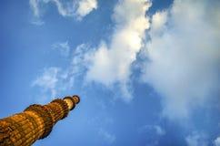 Qutub Minar New Delhi India touch the sky Royalty Free Stock Photography