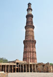 Qutub Minar in New Delhi, India Stock Photography
