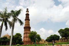 Qutub Minar, Nova Deli imagem de stock