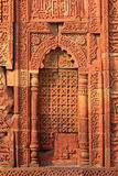 Qutub Minar sandstone - India Royalty Free Stock Image