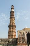 Qutub minar south view Royalty Free Stock Photography