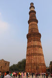 Qutub Minar the tallest and famous towers in the world, Delhi Royalty Free Stock Images