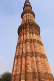 Qutub Minar the tallest and famous towers in the world, Delhi Stock Photos