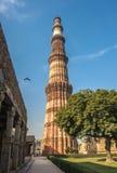 Qutub Minar tower, Delhi, India Stock Images