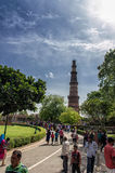 Qutub Minar Tower Royalty Free Stock Image