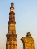 Qutub Minar Tower or Qutb Minar, Royalty Free Stock Photo