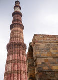 Qutub Minar tower Stock Photos