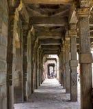 Qutub Minar. A very Close Photograph of Qutub Minar Stock Images