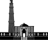 Qutub Minara tower Delhi India Stock Images