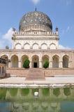 Qutub Shahi gravvalv royaltyfri bild