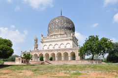 Qutub Shahi Tombs. In Hyderabad, India royalty free stock photo