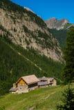 Quyras ceillac Riaille в alpes hautes в Франции стоковые изображения