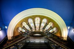 QVB entrance Royalty Free Stock Photography