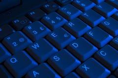 qwerty πληκτρολογίων Στοκ Εικόνες