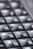 Qwerty keypad from cellphone Royalty Free Stock Images
