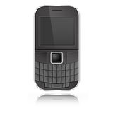 Qwerty Mobile. Graphic vector eps10 Stock Images