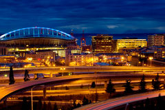 Qwest Field arena Stock Image