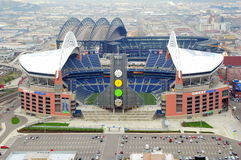Qwest field. Stock Photos